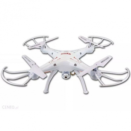 SYMA   X5SC (kamera HD 720p, 2.4GHz, headless, zasięg do 50m) - balts