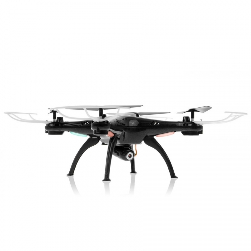 SYMA   X5SW Explorers 2 (kamera FPV WiFi 0.3MP, 2.4GHz, zasięg 30m, headless) - Czarny