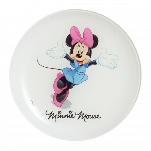 LUMINARC Disney colors minnie deserta šķīvis 20cm