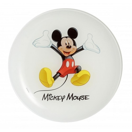 LUMINARC Disney colors mickey deserta šķīvis 20cm