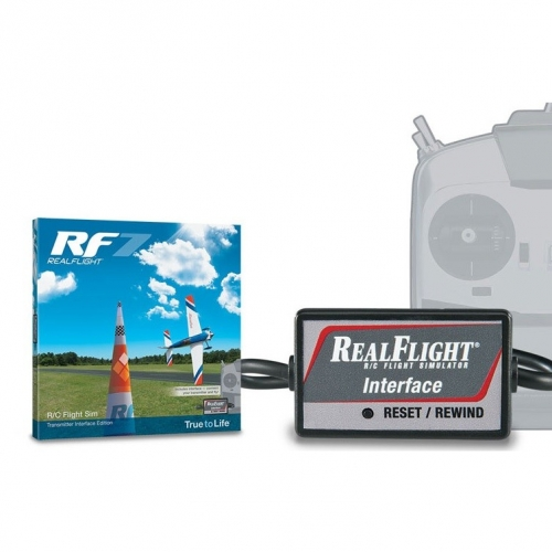 GREAT PLANES Symulator REALFLIGHT RF7 INTERFACE AIRPLANE