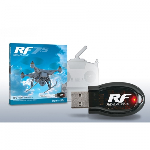 GREAT PLANES Symulator Realflight RF7.5 Wireless Transmitter Interface Edition