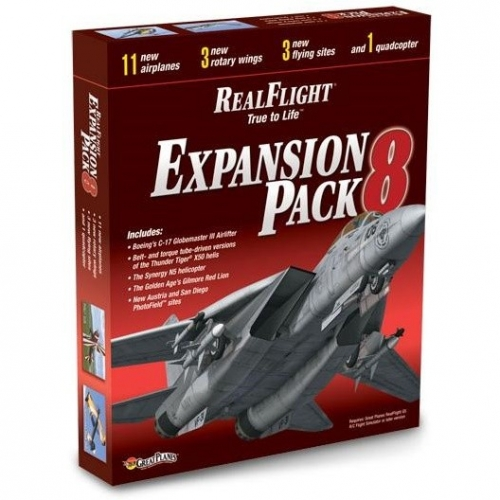GREAT PLANES Expansion Pack 8 dodatek do symulatora RealFlight