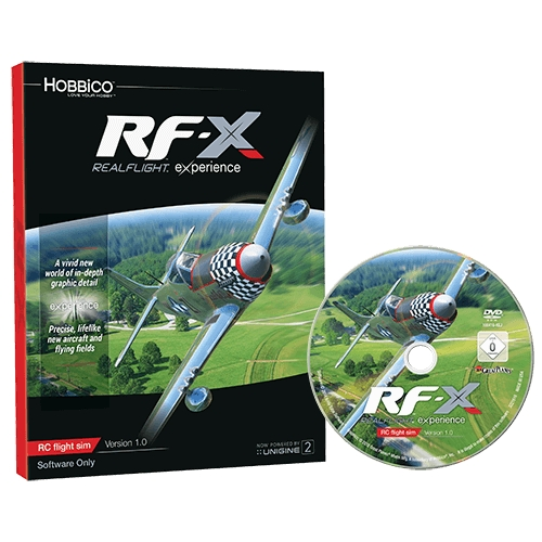 GREAT PLANES Symulator Realflight RF-X Software Only Version - Upgrade Disk