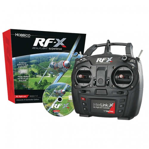 GREAT PLANES Symulator Realflight RF-X z koltrolerem InterLink-X