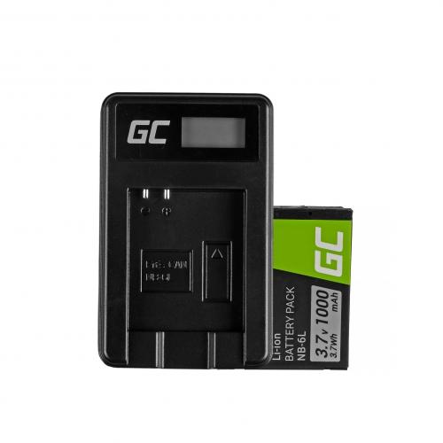GREEN CELL Baterija akumulators NB-6L/6LH i
