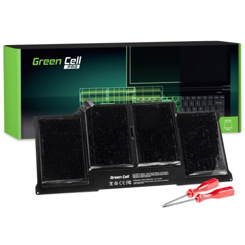 GREEN CELL Baterija akumulators   PRO A1377 A1405 A1496 Apple MacBook Air 13 A1369 A1466 (2010, 2011, 2012, 2013, 2014, 2015) (AP14PRO)
