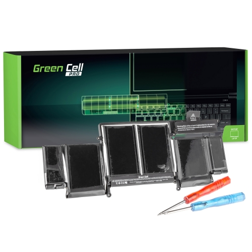 GREEN CELL Baterija akumulators   PRO A1493 Apple MacBook Pro 13 A1502 (Late 2013, Mid 2014) (AP21PRO)