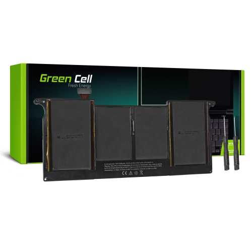 GREEN CELL Baterija akumulators   A1406 A1495 Apple MacBook Air 11 A1370 A1465 (Mid 2011, Mid 2012, Mid 2013, Early 2014, Early 2015) (AP11)