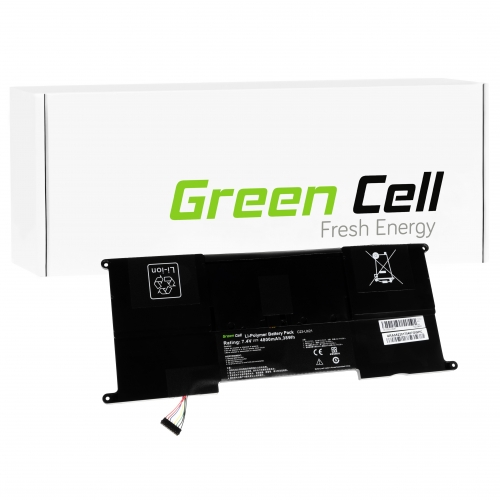GREEN CELL Baterija akumulators   C23-UX21 do Laptopa Asus ZenBook UX21 UX21A UX21E (AS52)