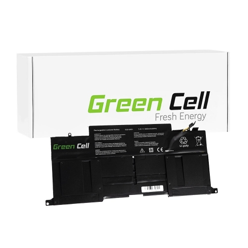 GREEN CELL Baterija akumulators   C22-UX31 do Laptopa Asus ZenBook UX31 UX31A UX31E UX31LA (AS72)