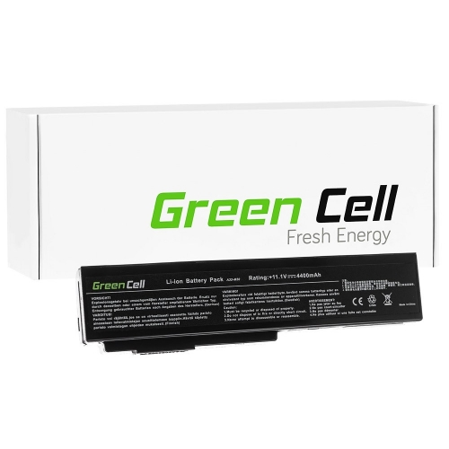 GREEN CELL Baterija akumulators   A32-M50 A32-N61 Asus N43 N53 G50 L50 M50 M60 N61VN N61JV N61VG 11.1V 6 cell (AS08)
