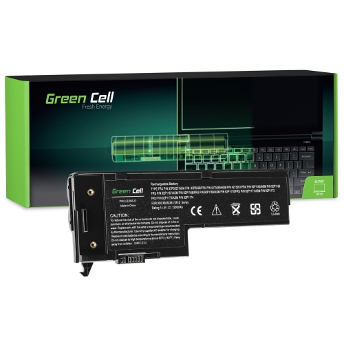 GREEN CELL Baterija akumulators   do Lenovo IBM ThinkPad X60 X60s X61 X61s (LE92)