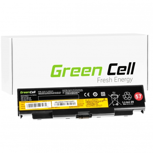 GREEN CELL Baterija akumulators   do Lenovo ThinkPad T440P T540P W540 W541 L440 L540 (LE89)