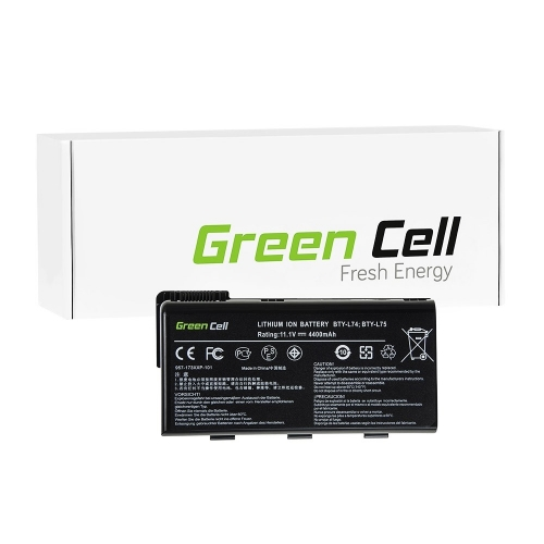GREEN CELL Baterija akumulators   BTY-L74 BTY-L75 do MSI CR500 CR600 CR610 CR620 CR630 CR700 CR720 CX500 CX600 CX620 CX700 (MS01)
