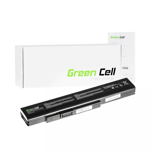 GREEN CELL Baterija akumulators   A41-A15 A42-A15 do MSI CR640 CX640, Medion Akoya E6221 E7220 E7222 P6634 P6815, Fujitsu LifeBook N532 NH532 (MS04)