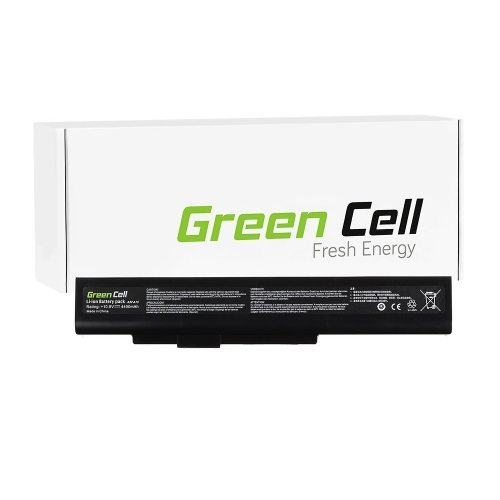 GREEN CELL Baterija akumulators   A32-A15 do MSI CR640 CX640, Medion Akoya E6221 E7220 E7222 P6634 P6815, Fujitsu LifeBook N532 NH532 (MS03)