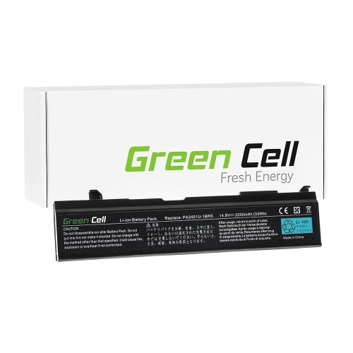 GREEN CELL Baterija akumulators   PA3451U-1BRS PA3465U-1BRS do Toshiba Satellite A100 A110 A135 M70, Toshiba Satellite Pro A110 M40 M50 M70 (TS48)