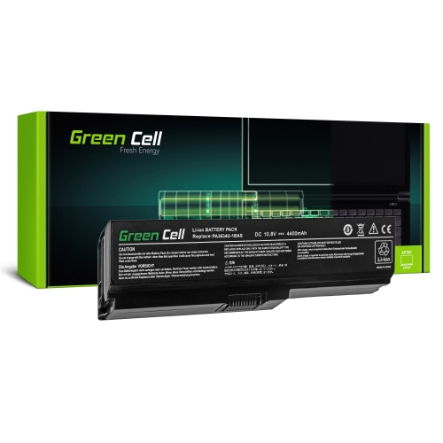 GREEN CELL Baterija akumulators   PA3634U-1BRS do Toshiba Satellite A660 C650 C660 C660D L650 L650D L655 L670 L670D L675 (TS03V2)
