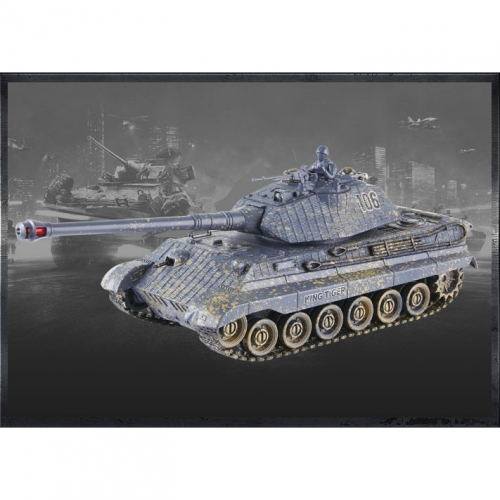 LiveShop German King Tiger v3 1:28 2.4GHz RTR
