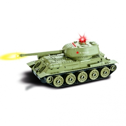 "LiveShop Russian T34 ""Rudy"" RTR 1:24"