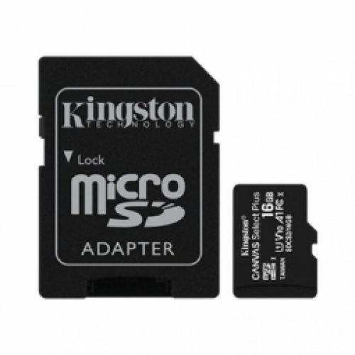KINGSTON   Canvas Select Plus UHS-I 16GB